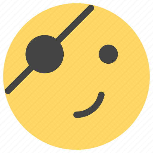 emoticons, pirate, smiley icon
