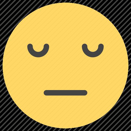 emoticons, sleep, smiley icon