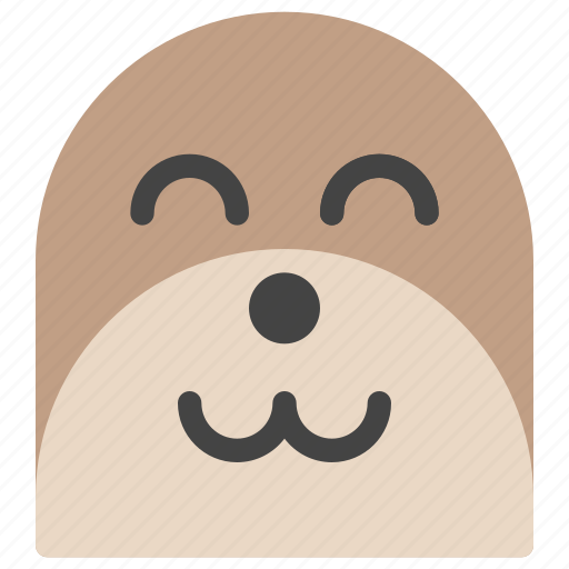 animals, emoticons, indolence, laziness, nature, sloth, smiley icon