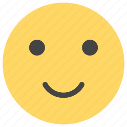 cheerful, emoticons, happy, positive, satisfied, smile, smiley icon