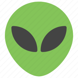 alien, emoticons, object, objects, space, ufo icon