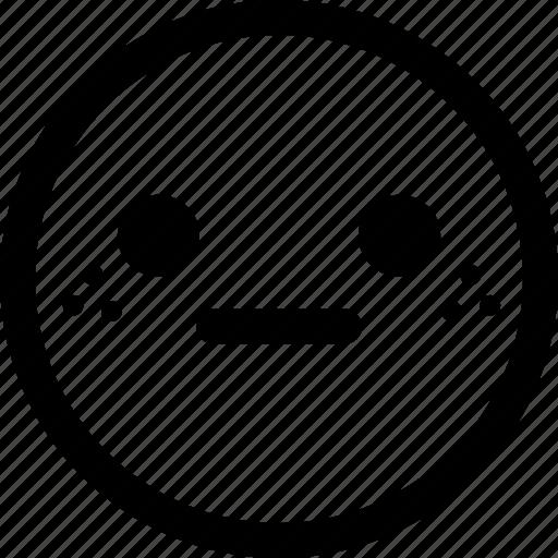 emoji, emoticon, emoticons, expression, face, surprised icon