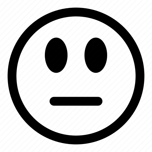 emoticons, expression, face, silent, smiley icon
