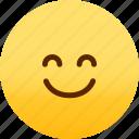 emoji, emotion, expression, face, feeling, smile