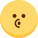 blowing, emoji, emotion, expression, face, feeling