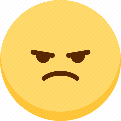 Emoji, emotion, expression, face, feeling, mad icon - Download on Iconfinder