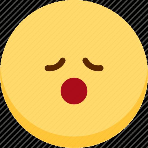 emoji, emotion, expression, face, feeling, relax icon