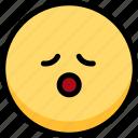emoji, emotion, expression, face, feeling, relax