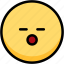 emoji, emotion, expression, face, feeling, sleeping icon