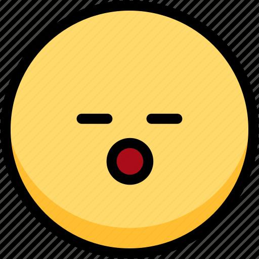 emoji, emotion, expression, face, feeling, sleeping icon