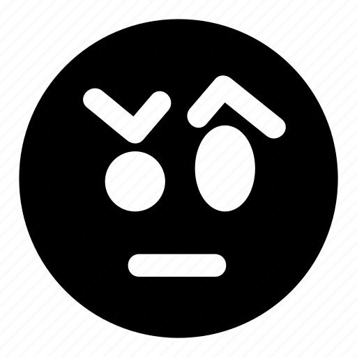 confused, emoticons, eyebrows, skeptical, unsure icon