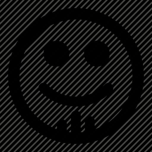 emoticons, goatee, smile, smiley icon
