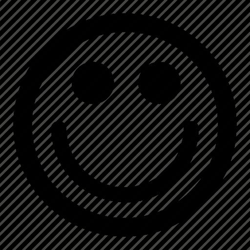 big, cute, emoticons, friendly, smile, smiley icon