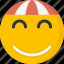 chinese, emoji, emoticon, happy, illustration, smile, smiling icon