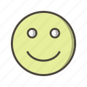 emoticon, face, happy icon