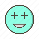 emoticon, face, positive icon