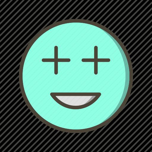 emoticon, face, positive icon