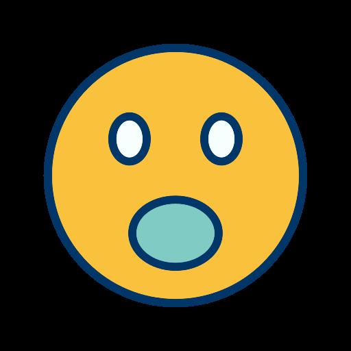 emoticon, face, smiley, surprised icon