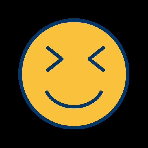 emoticon, face, smiley, wink icon