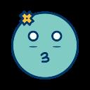 emoticon, girl, smiley icon