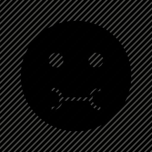 Emoticon, sick, emoji icon - Download on Iconfinder