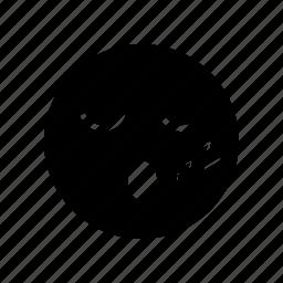 emoticon, face, sleep icon