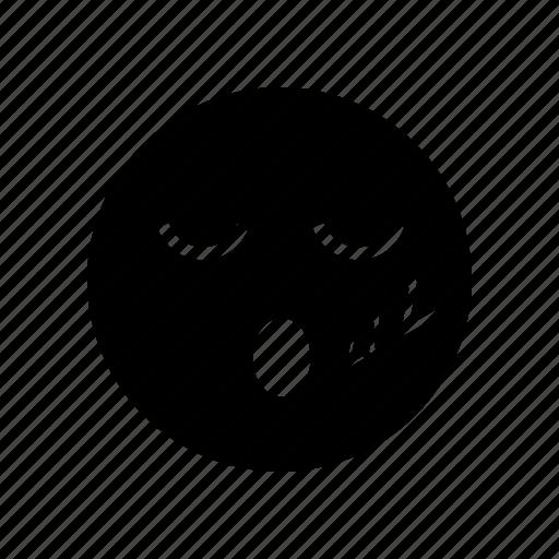 emoji, emoticon, sleep icon