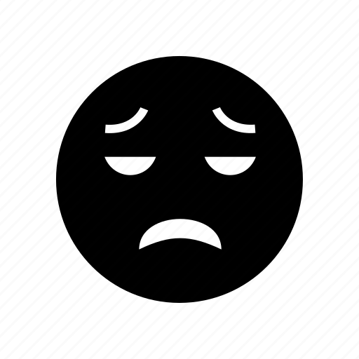 disappointed, emoji, emoticon, face icon