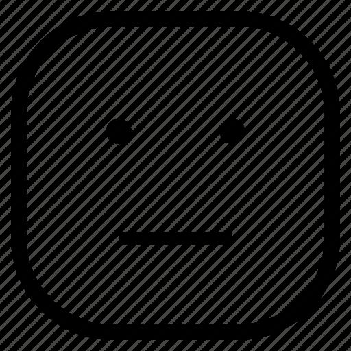 angry, annoying, emoji, emoticon icon