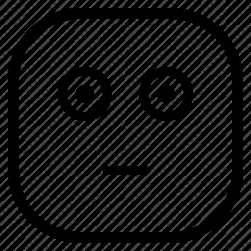 confused, emoji, emoticon icon