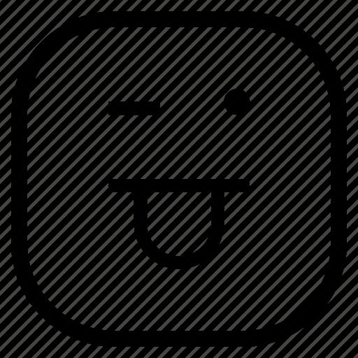 emoji, emoticon, funcky, funny icon