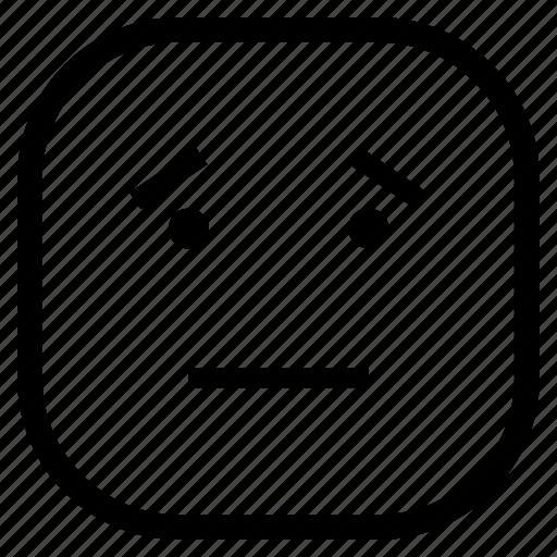 emoji, emoticon, fake, happy icon