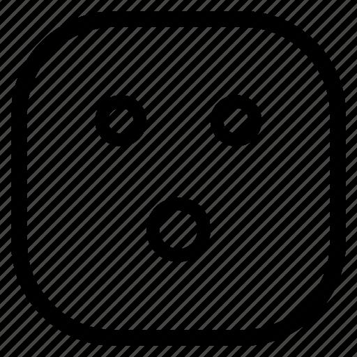 emoji, emoticon, no, shit icon
