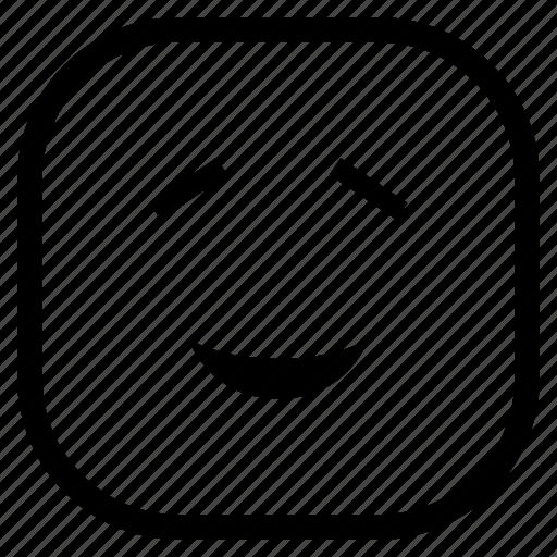 emoji, emoticon, eyes, smile icon