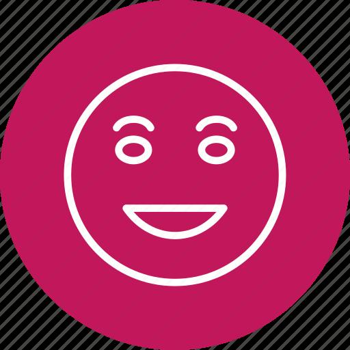 emoji, emoticon, laughing, lol icon