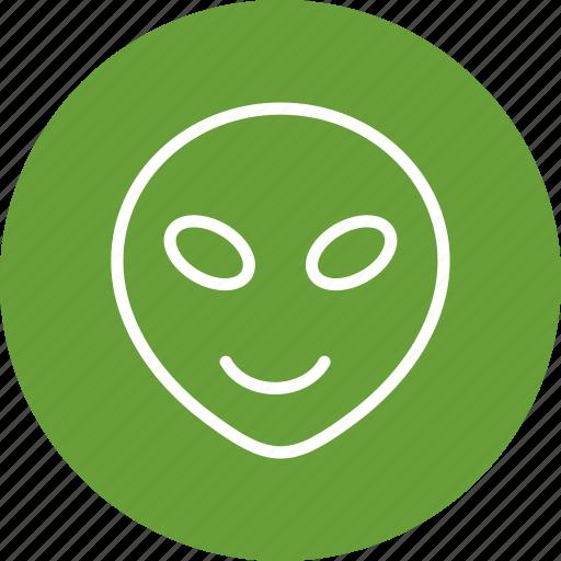 alien, emoji, emoticon icon