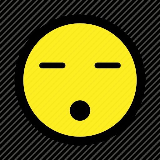 asleep, emoticon, resting, sleep, sleeping, smiley, tired icon