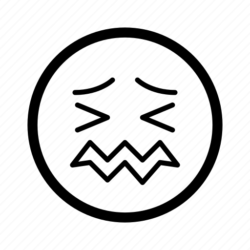 cry, emoji, emoticon, emotion, face, smiley, worried icon
