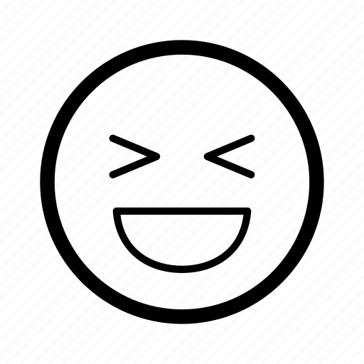 emoji, emoticon, emoticons, laugh, lol, smile, smiley icon