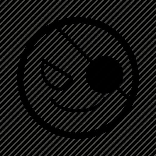 emoji, emoticon, emoticons, emotion, evil, pirate, smiley icon