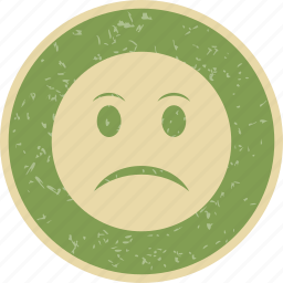 angry, emoticon, face, smiley icon