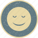 calm, emoticon, face, smiley icon