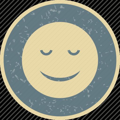 calm, emoticon, face, smiley icon