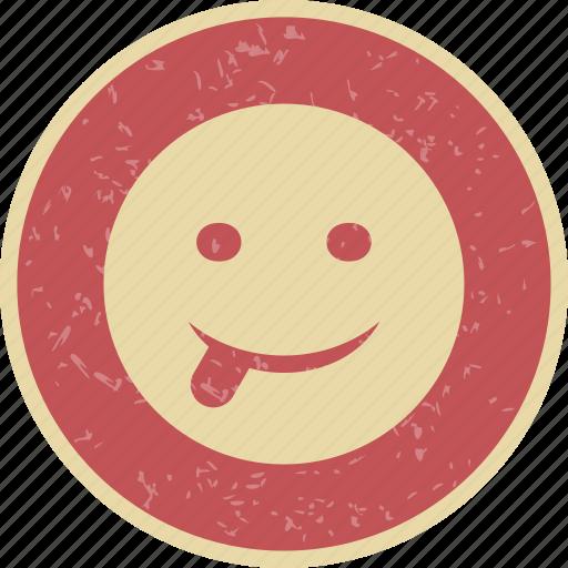 emoticon, smiley, stuck, tongue icon