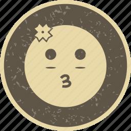 emoticon, face, girl, smiley icon
