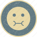 emoticon, face, sick, smiley icon