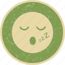 emoticon, smiley, sleep