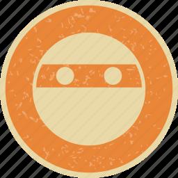 emoticon, face, ninja, smiley icon