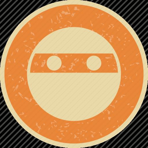emoticon, ninja, smiley icon