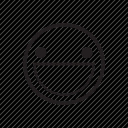 emoji, emoticon, emotion, favorite, happy, smile, smiley icon